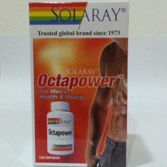 Solaray Octapower Capsules 120's (For Men's Health & Vitality) (Exp8/2019)