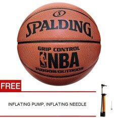 Spalding Grip Control Indoor/outdoor Basketball Official Size 7 Ball By Storesome.