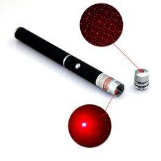 Star Cap High Power Laser Pointer Pen 2in1 5mw Powerful Red Laser (2AAA Batteries Included