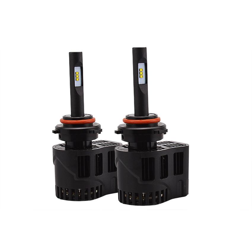 Super Cerah All-In-One Tanpa Kipas 6400LM HB4 Isi Ulang Halogen Ledauto Lampu Perangkat Konversi Bola Lampu Lampu Kabut Lampu Mobil