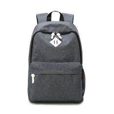 Tanoshiis Picks Canvas Shoulder Backpack School Bag 0051_grey By Tanoshiis Picks.