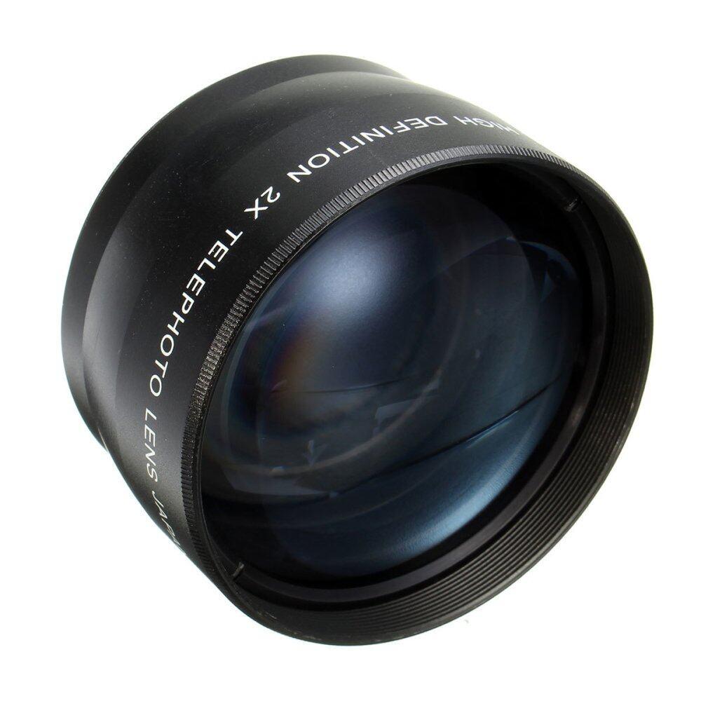 Telephot Ống Kính Cho Tất Cả Thành Viên Mét ống Kính Canon 58 Mét 2x độ Phóng đại ống Kính Chụp ảnh Cho Canon Eos Xs Xsi T1i Xti Xt-Quốc Tế Giảm Cực Hot