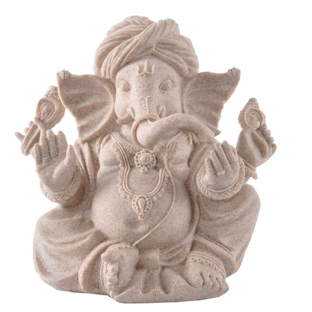Huế Đá Sa Thạch Ấn Độ Voi Thần Tượng Phật Điêu Khắc In Hình Hoa Lá-Quốc Tế