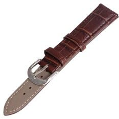Twinklenorth 24mm Brown Genuine Leather Watch Strap Band Malaysia