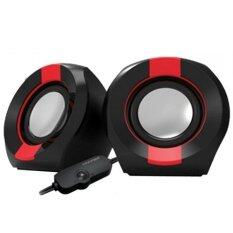 Vinnfier Icon 202 USB Multimedia Speaker - Black/Red Malaysia