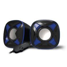 VINNFIER Icon 303 USB Portable Speaker  (Black Blue) Malaysia