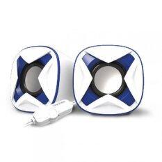 VINNFIER Icon 303 USB Portable Speaker (White Blue) Malaysia