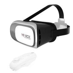 VR Box 2 Virtual Reality 3D Glasses Headset Remote Control Gamepad Gear Set
