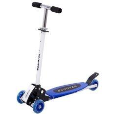 Warbase Young Style Foldable Wheel Balance Kick Scooter (blue) By The Thing Store.