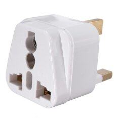 Wholes Universal Travel Adapter Au Us Eu To Uk Converter 3 Pin Ac Plug