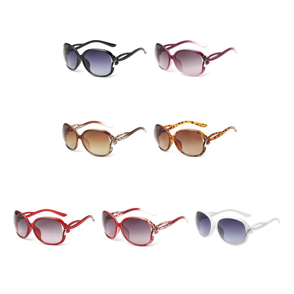 Rp 26.559. Wanita Kacamata Hitam PC Elegan UV400 Kacamata Hitam Warna  Bingkai ... a1102538e4