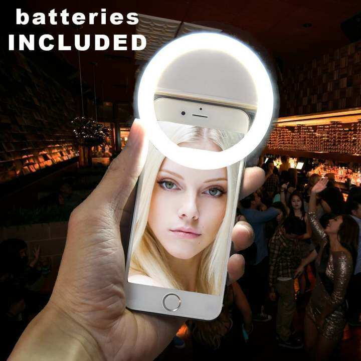 XTERMO Smartphone LED Ring Selfie Light for Enhancing Photo Light
