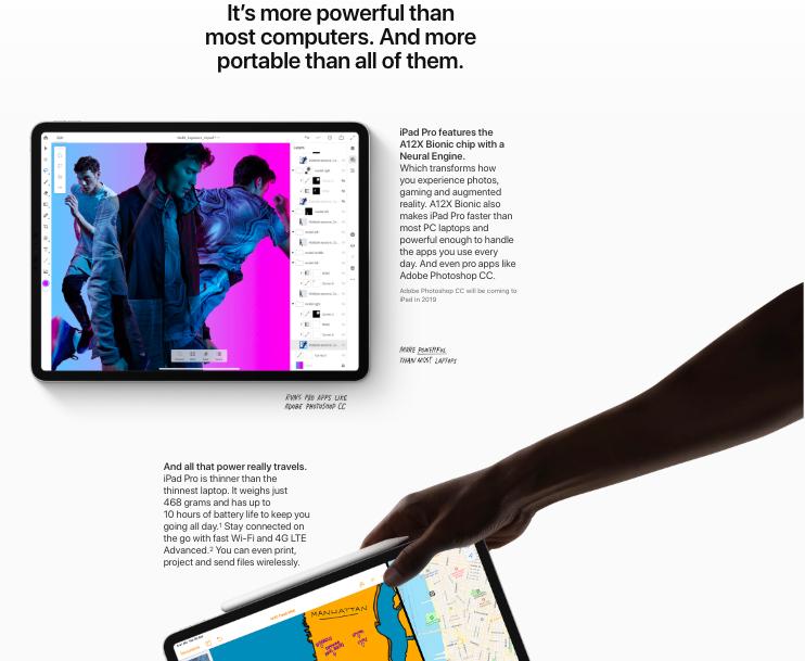Apple iPad Pro 11-inch Wifi (2018)