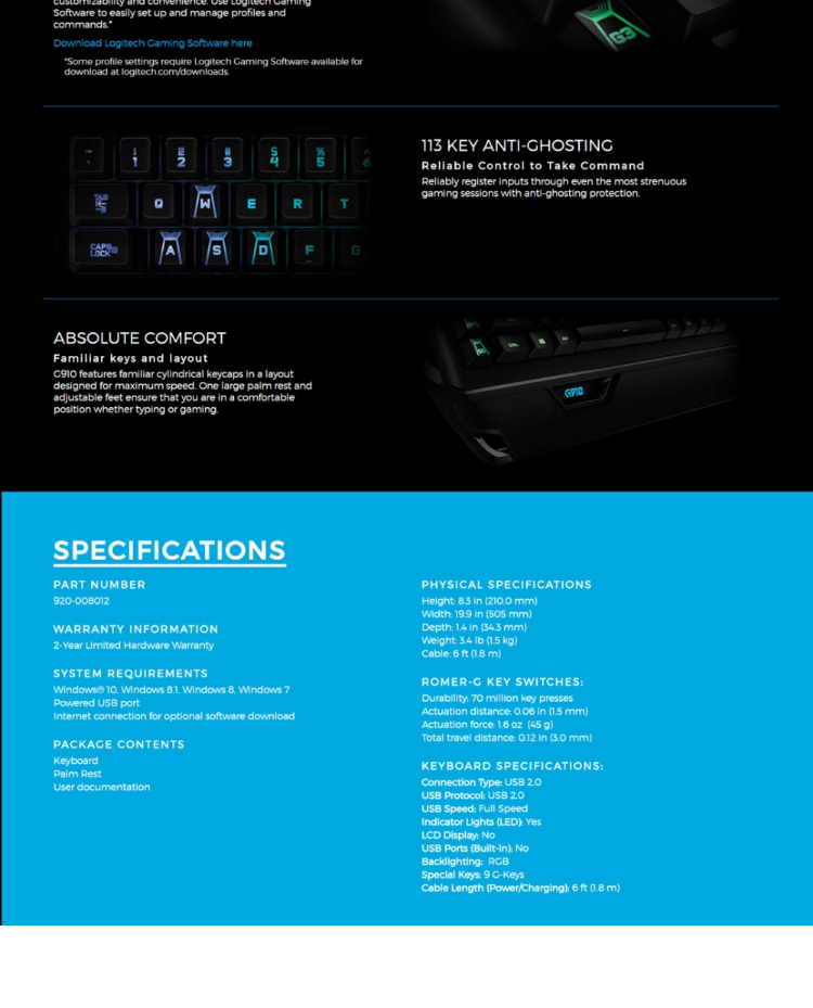Logitech G Keys Not Working Windows 10