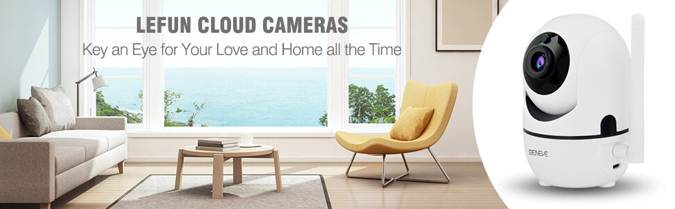 1080P Wireless Security Camera IP Camera with Night Vision/Two-Way Audio  2 4Ghz WiFi Indoor Home Dome Camera with 32G SD Card