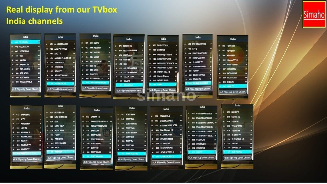 ... Korea, India, Thailand, Vietnam, Euro, US, Singapore, Arab etc.. Free  for Life, no subsequent payment!!** Adult channel is password protected**  50+great ...