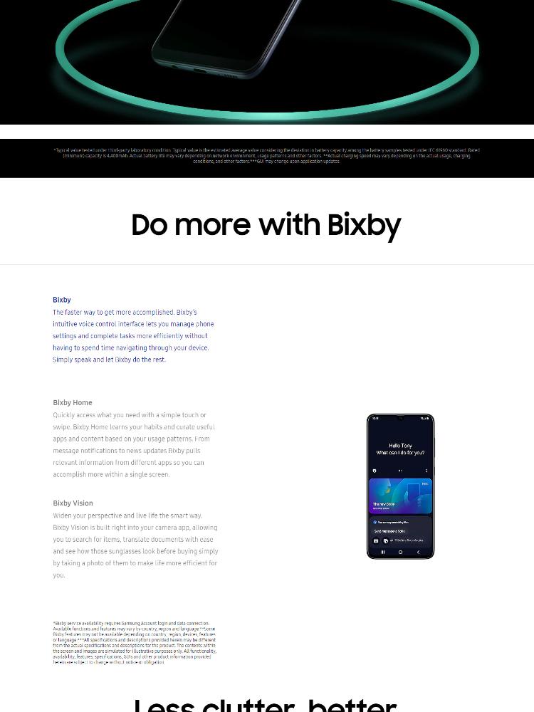 Samsung Galaxy A70 (8GB/128GB) Original Samsung Malaysia Set + 6 Free Gift  Worth RM399