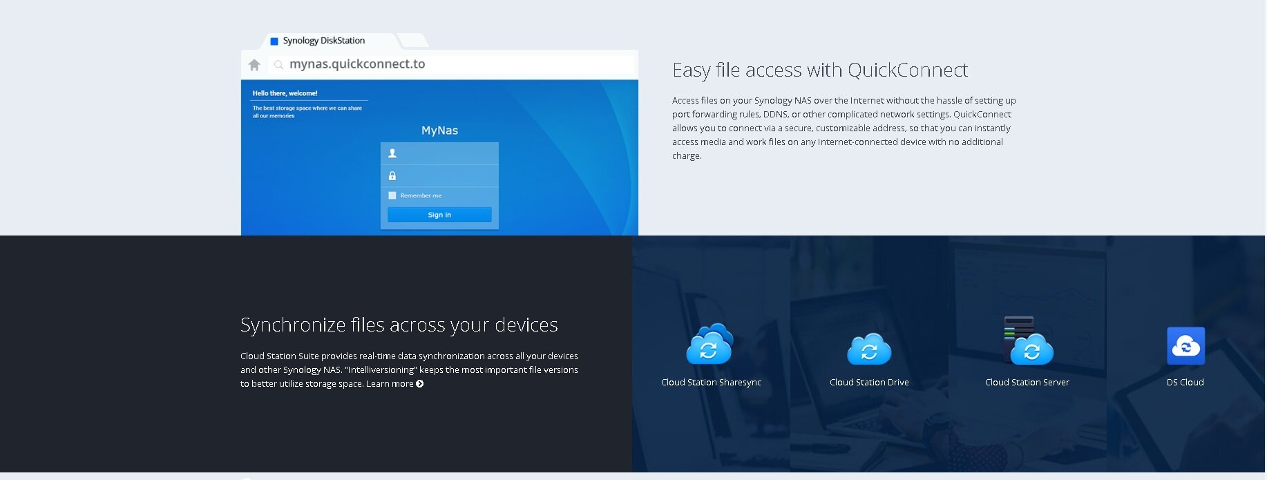 Synology Versions