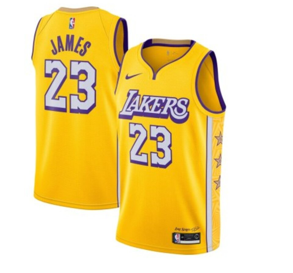 Mens James Jersey Athletics Los Angeles Basketball 23 Adult Lebron