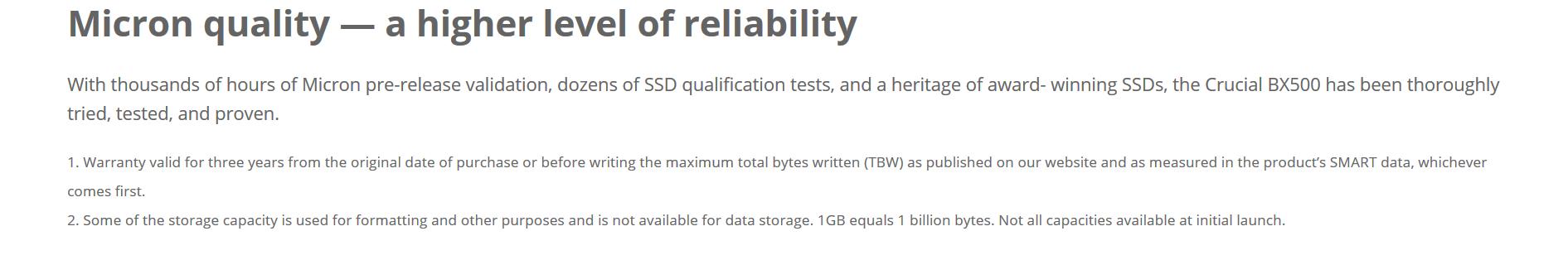 Crucial BX500 240GB 3D NAND SATA 2 5-inch SSD