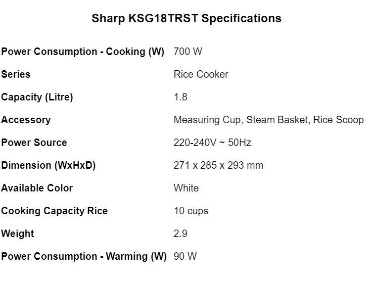 Hasil carian imej untuk KSG18TRST