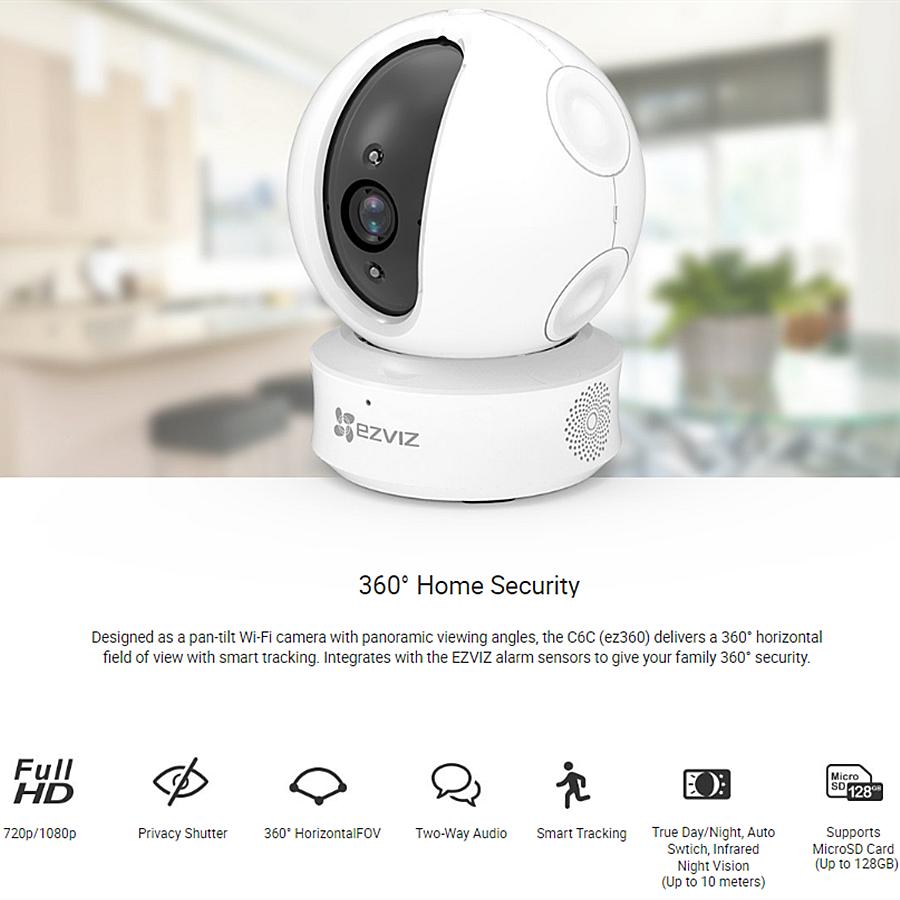 EZVIZ EZ360: videocamera 360° - Recensione