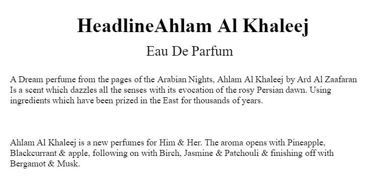 My Damas Ahlam Al Khaleej Oud Perfume Oil For Men and Women
