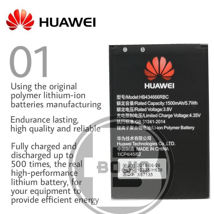 【Imported Original】Huawei E5573S Battery HB434666RBC Wifi Modem Battery