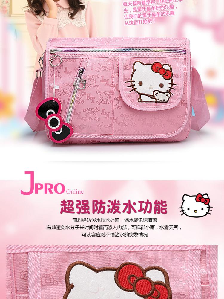 297b92335f 1 x Hello Kitty Large Size Tuition Bag Girl Bag Shoulder Bag