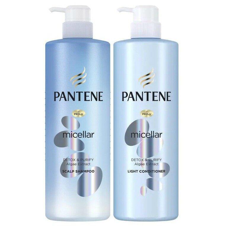 Pantene Micellar Shampoo Detox& Purify (530ml)