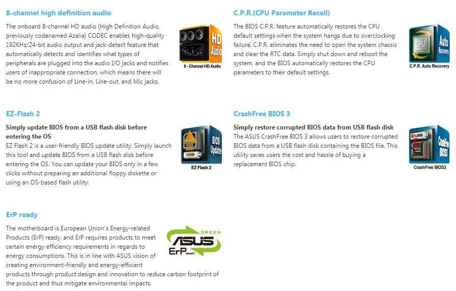 Pre-Owned) ASUS P8H61 INTEL® Socket LGA 1155 ATX Motherboard