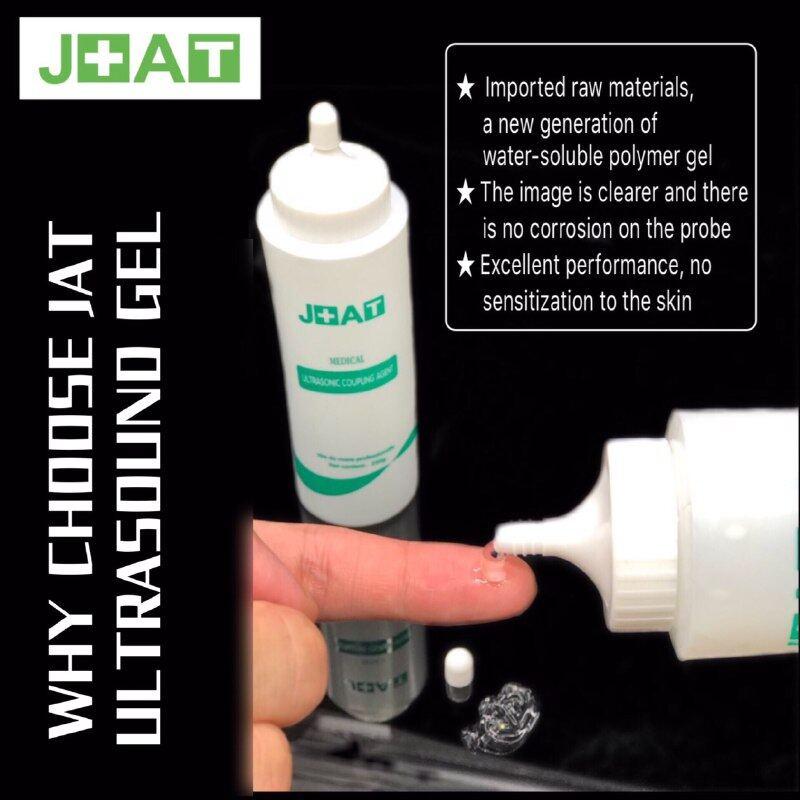 JAT Medical Ultrasonic Coupling Agent 250g - Ultrasound Gel for Fetal  Doppler Scan Probe Machine - High Quality Water Soluble Gel No Irritation  to