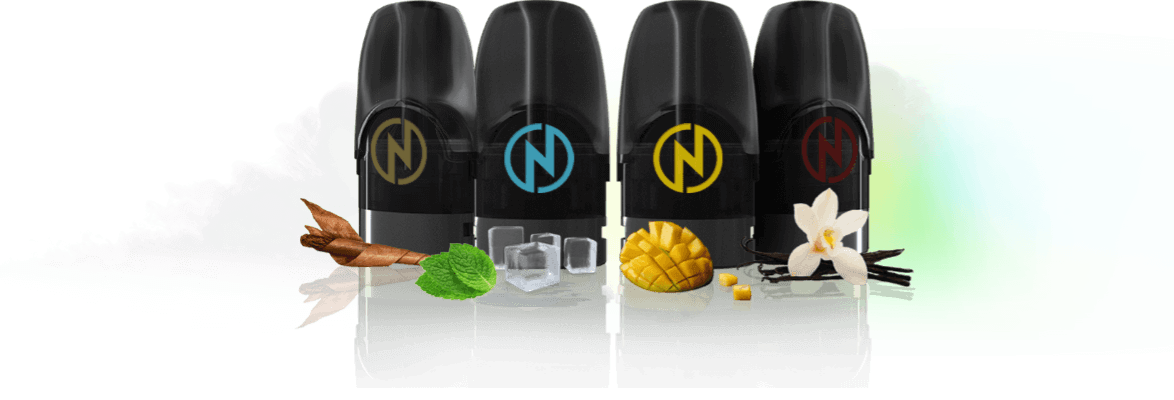GENUINE NCIG NPOD Flavor (Pack of 4) Vape Cartridge Accessories E-Cigarette  Pod (with FREE GIFT)