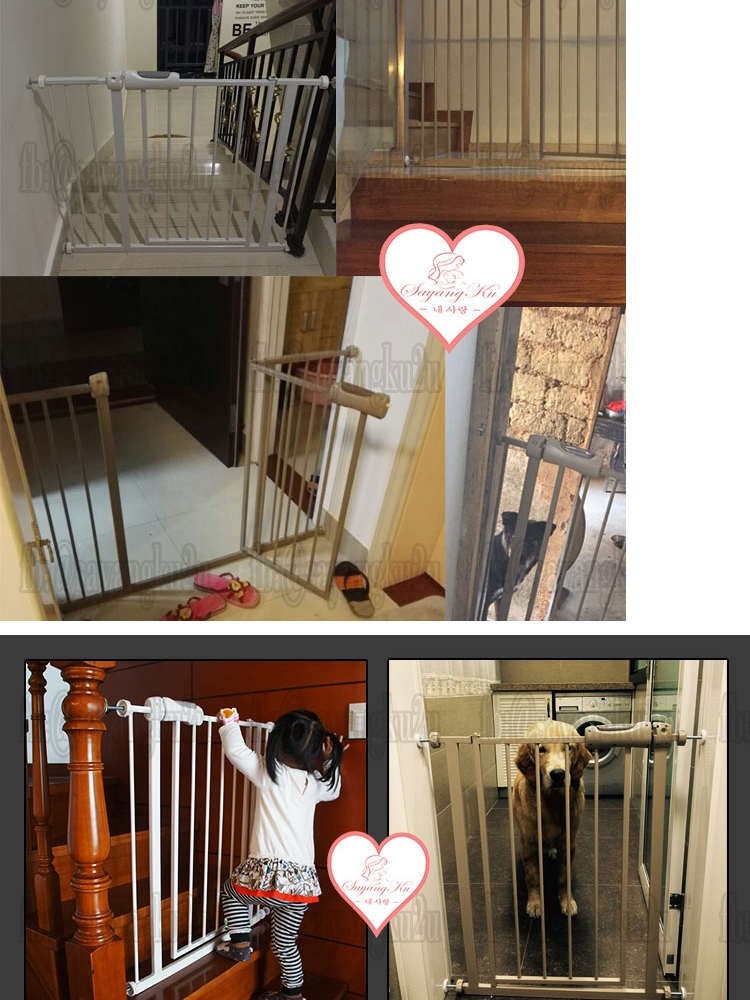 ecb7cad03e33  SayangKu  Type A BP009 Premium Baby Safety Gate Safety Door (145-154cm)    Pets Walk Thru Gate With Free Gift!!