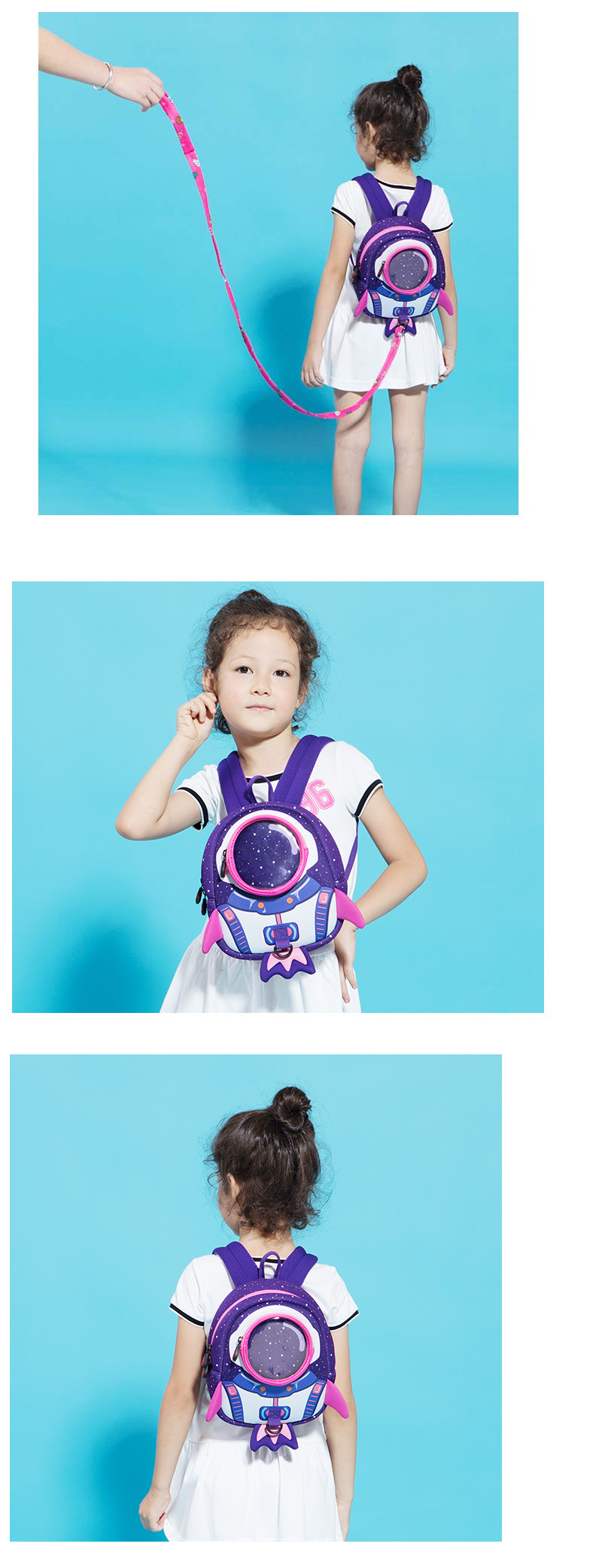 UEK Rocket Kids Backpack (Purple)