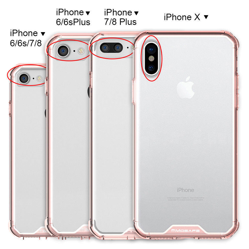 size 40 bc32d 9c4d4 PITLONG iPhone 5 5s SE 6 6s plus 7 8 plus X XS Shockproof Thin Case Cover  TPU Silicone Bumpers Transparent Clear Back Anti Scratch Protective Covers