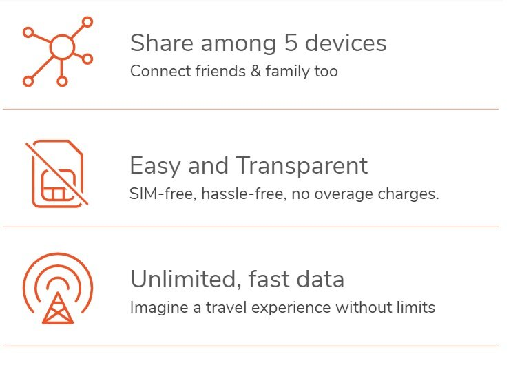 Europe 8 DAYS Unlimited Internet Portable Wifi (ACTUAL PRICE RM250 for 5  devices / Refundable Deposit RM300)
