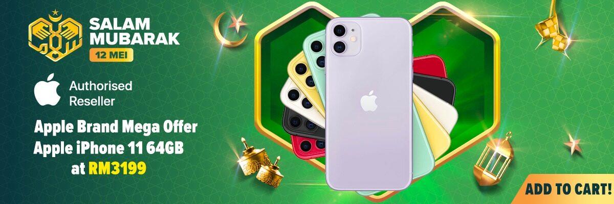 Lazada Brand Mega Offer: iPhone 11 Pro 直降 RM400,部分产品折扣超过 50% 5