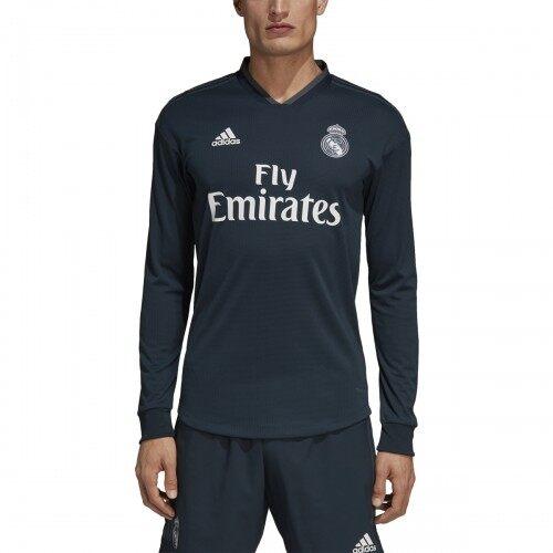 cd3b6d8ab Real. Madrid Away 2018 19 Long Sleeve Jersey for Men (Marcelo ...