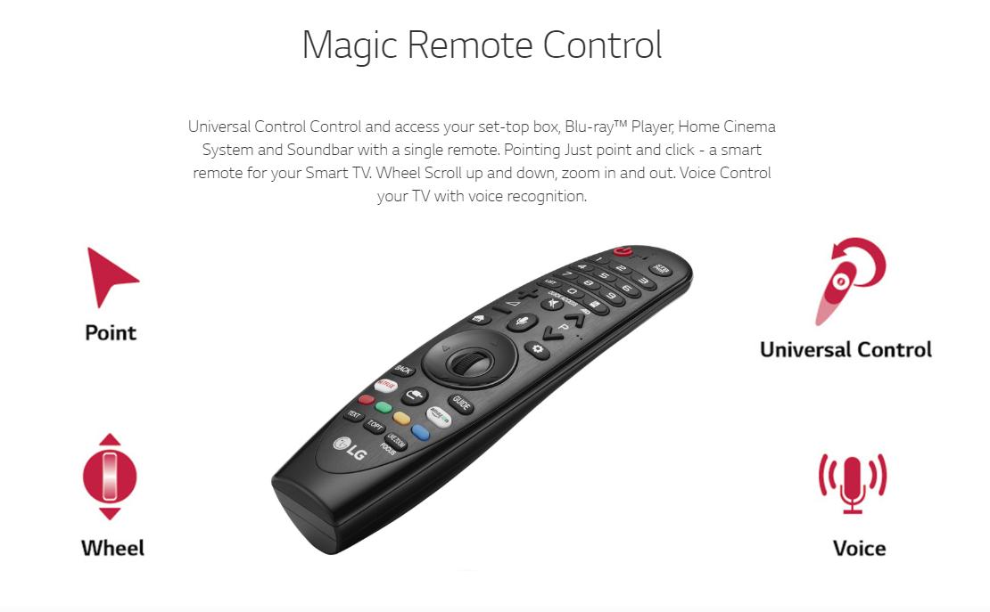 49UJ650 LG 3D SMART LED TV MAGIC REMOTE CONTROL [ORIGINAL]
