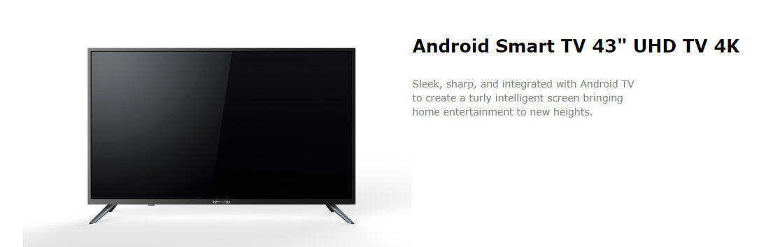 DAEWOO Android Smart TV 43