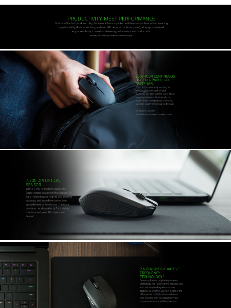 Razer Atheris Mobile Gaming Mouse