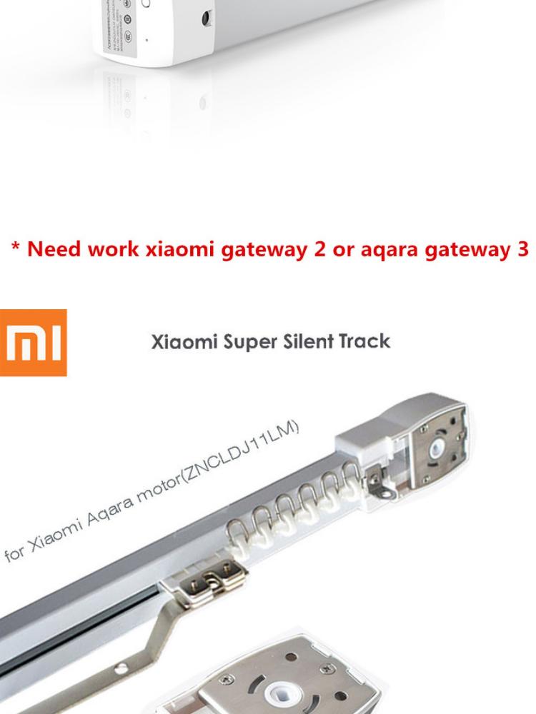 Xiaomi Aqara Intelligent Curtain Motor Works with Apple Homekit, Voice  Controlled by Apple Siri