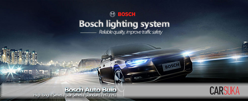 Bosch Headlamp HeadLight H4 Light Bulbs for Hyundai Matrix 2002 - 2010  (100% Genuine Bosch Malaysia)