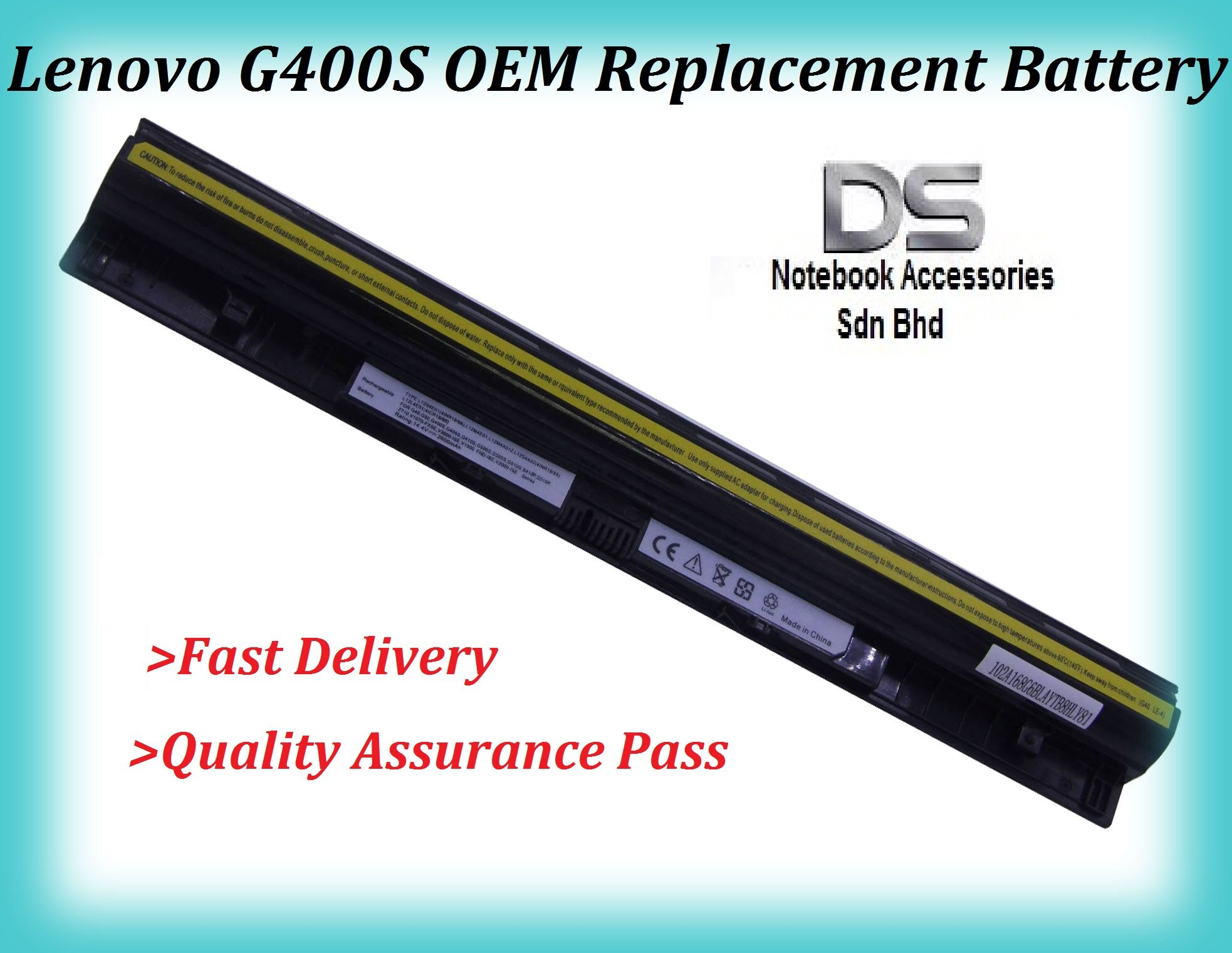 LENOVO S510p REPLACMENT BATTERY / LENOVO G40-30 REPLACEMENT BATTERY Malaysia