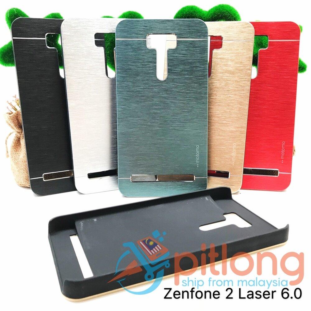 PITLONG MOTOMO ASUS ZENFONE 2 LASER 6 0 ZE601KL MOTOMO PC + Steel Hard  Plastic Case Cover