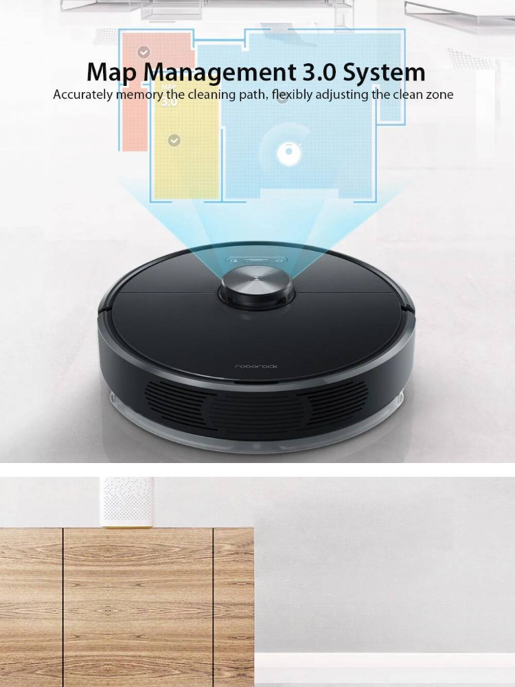 PRE-ORDER: Xiaomi Roborock T6 robot vacuum cleaner [ETA : 21 Working Days]