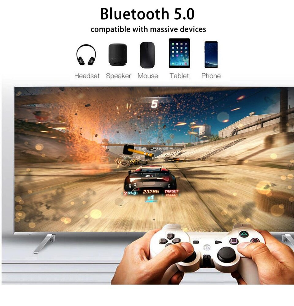 (Pre-install 10k+ Channels/Movies) NEW A95X MAX 4GB 64GB Android TV BOX  PULIERDE S905X2 Bluetooth 2 4G+5G WiFi 4K HDD Video Record REC Media Player