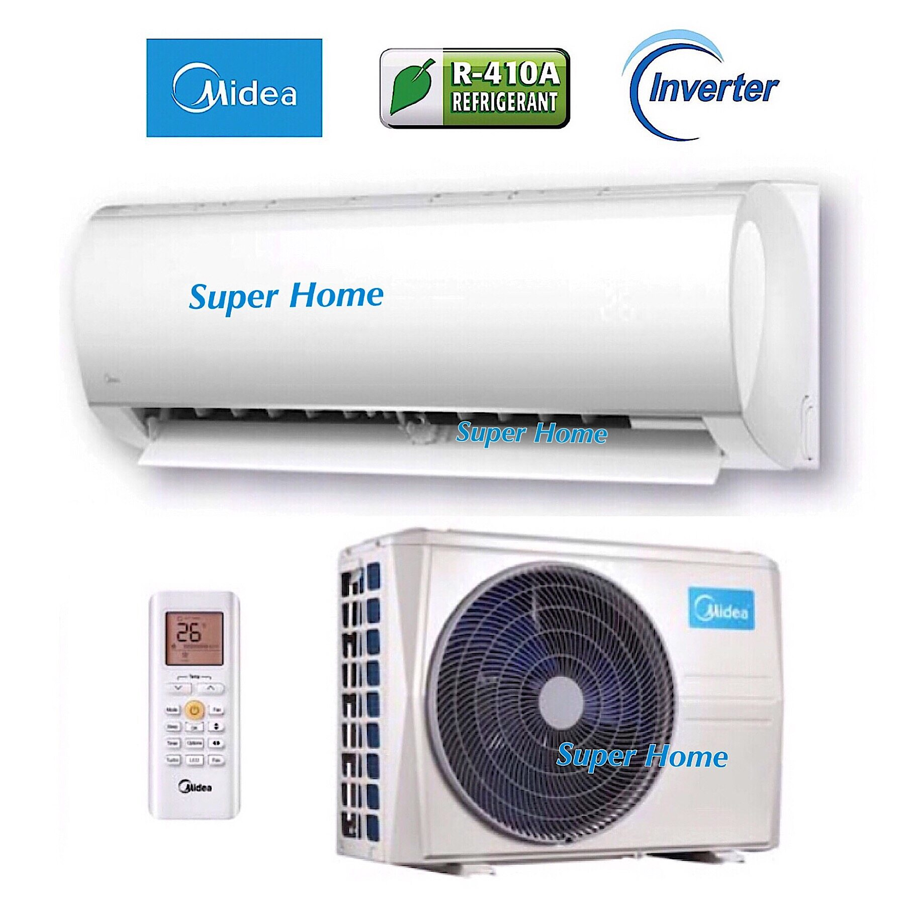 Midea MSMB-12CRDN1 1 5hp Inverter with Ionizer Air