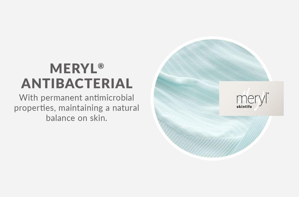 Mamaway Ultra Light Antibacterial Seamless Maternity & Nursing Bra in Stripes (Orange White)